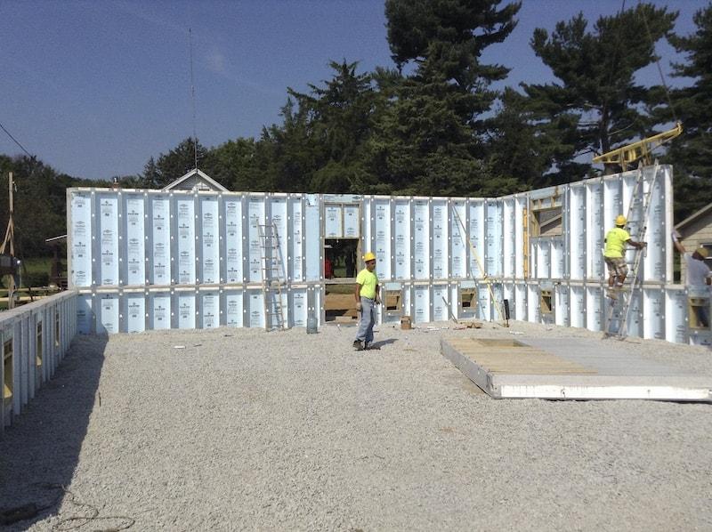 Superior Wall foundation