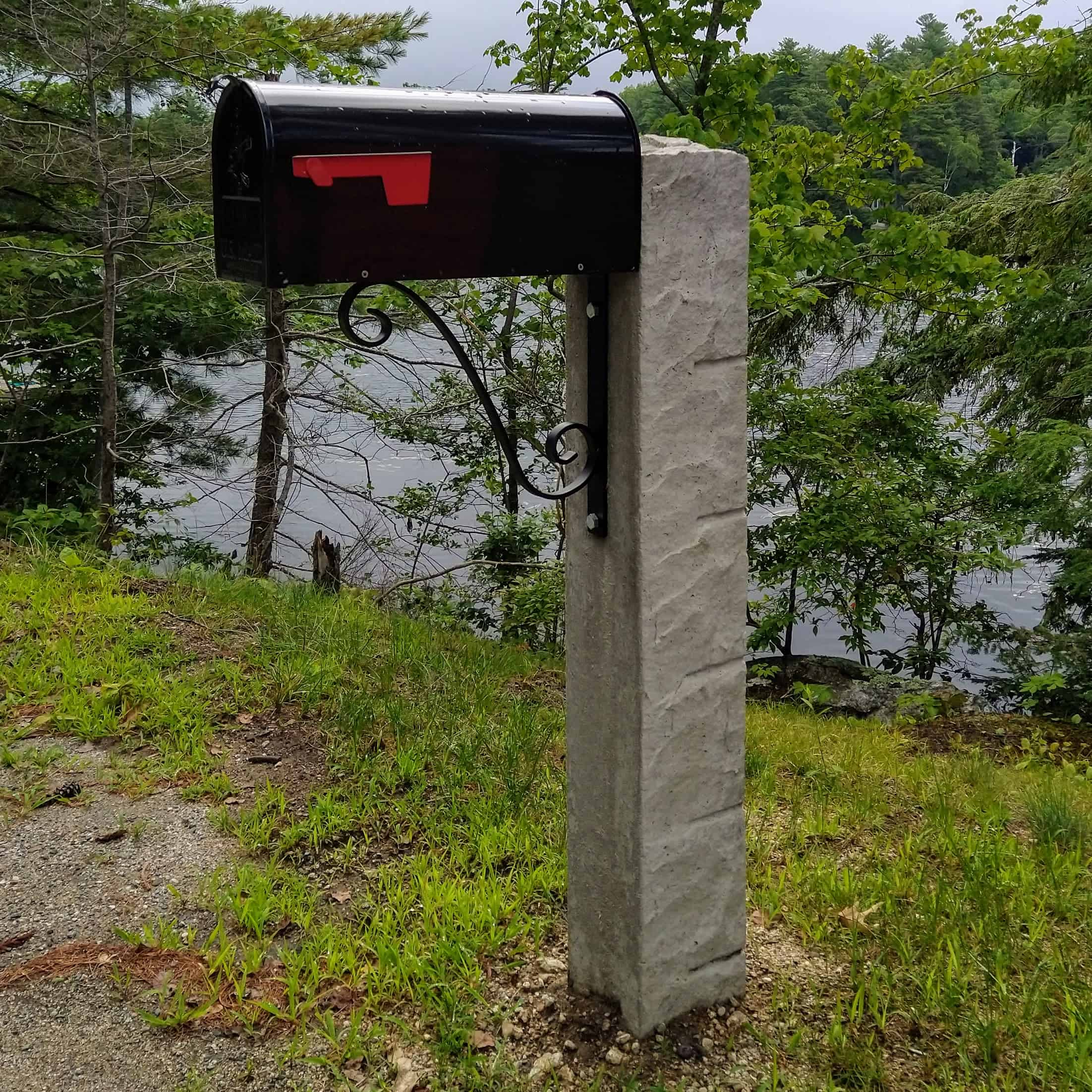 Hampshire Post finished installation